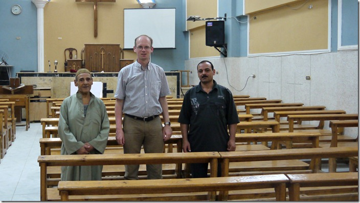 P1300273 Gad al-Sayed, presbyterian church, evangelical church, Abou Hilal, Minya, (c) willemjdewit