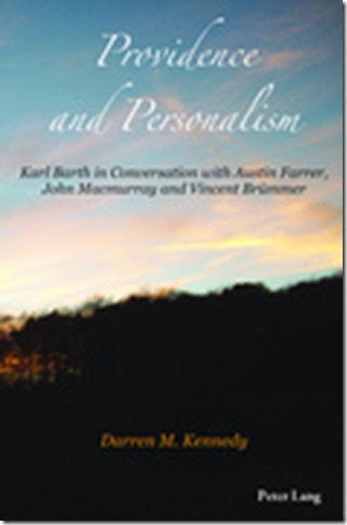 Darren Kennedy Providence and Personalism book